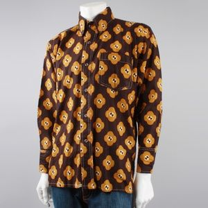 Other - Vintage style Mens Western Button Up Dress Shirt